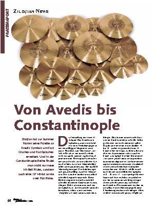 Von Avedis bis Constantinople