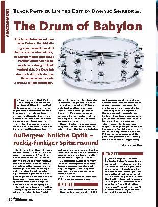 The Drum of Babylon