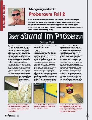 Proberaum (Teil 2)