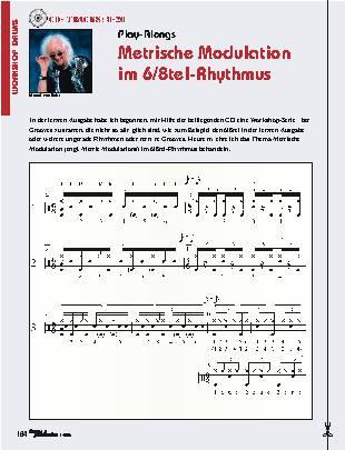 Metrische Modulation im 6/8tel-Rhythmus