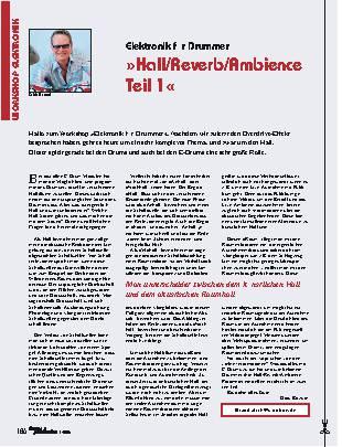 Hall/Reverb/Ambience (Teil 1)