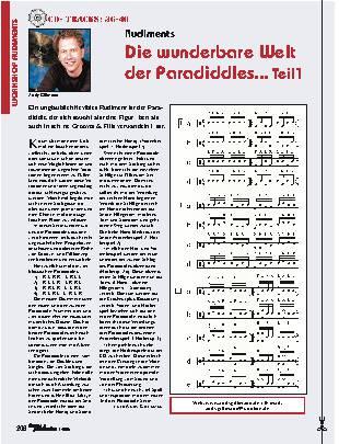 Die wunderbare Welt der Paradiddles... (Teil1)