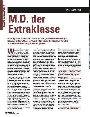 M.D. der Extraklasse