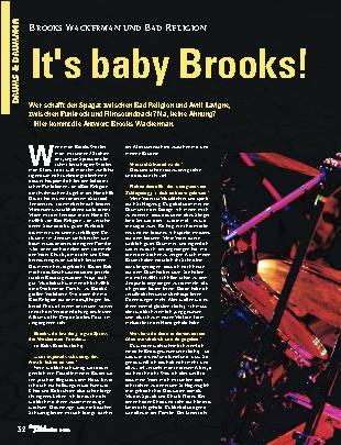 It's baby Brooks!
