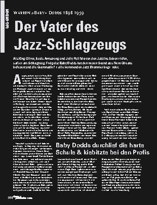 Der Vater des Jazz-Schlagzeugs