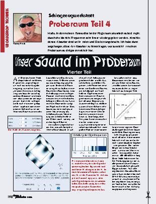 Proberaum (Teil 4)