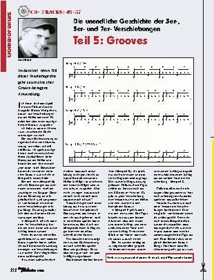 Die unendliche Geschichte der 3er-, 5er- und 7er-Verschiebungen (Teil 5: Grooves)