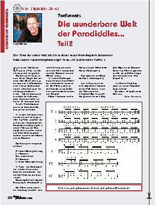 Die wunderbare Welt der Paradiddles... (Teil 2)