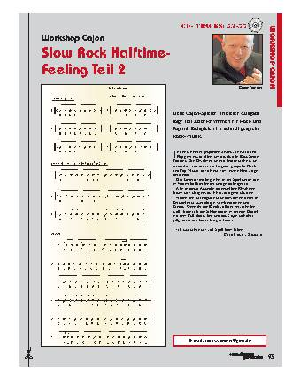 Slow Rock Halftime-Feeling (Teil 2)
