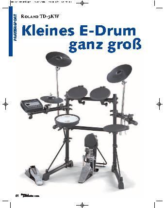 Kleines E-Drum ganz groß