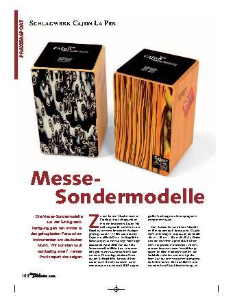 Messe-Sondermodelle