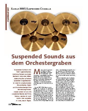 Suspended Sounds aus dem Orchestergraben