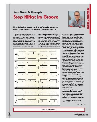 Step HiHat im Groove