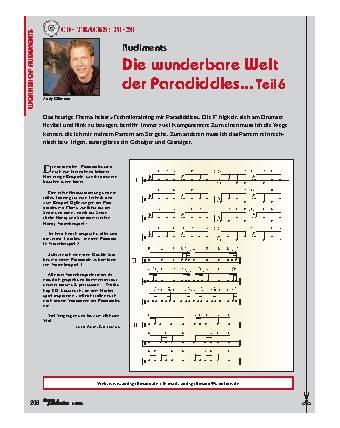 Die wunderbare Welt der Paradiddles... (Teil 6)