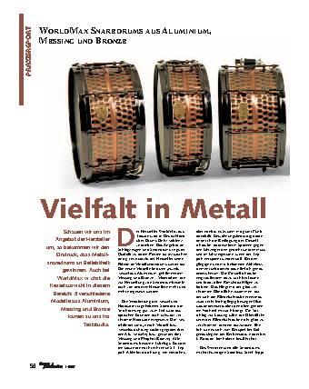 Vielfalt in Metall