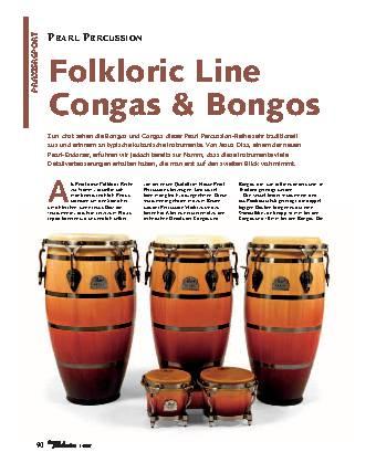 Folkloric Line Congas & Bongos