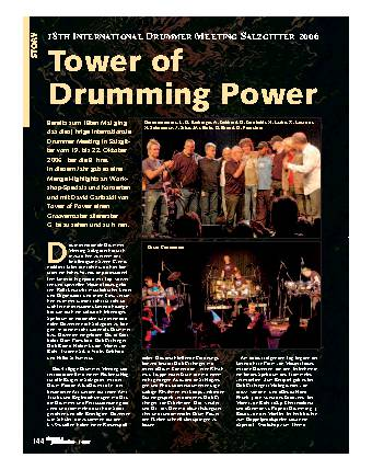Tower of Drumming Power