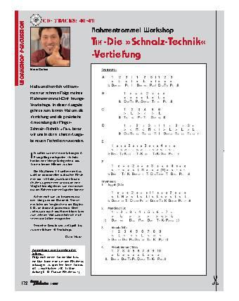 TIK -Die Schnalz-Technik -Vertiefung