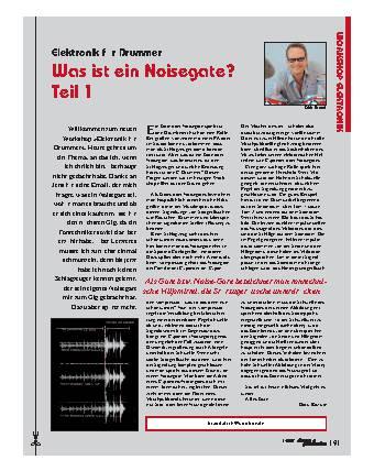 Was ist ein Noisegate? (Teil 1)