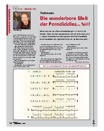 Die wunderbare Welt der Paradiddles... (Teil 7)