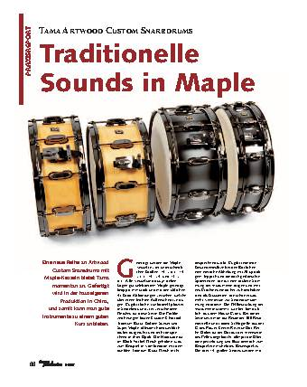 Traditionelle Sounds in Maple
