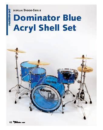 Dominator Blue Acryl Shell Set