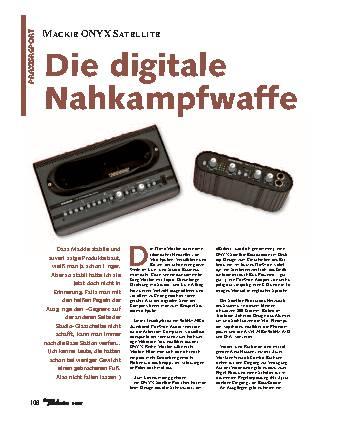 Die digitale Nahkampfwaffe