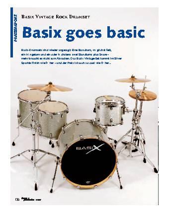 Basix goes basic