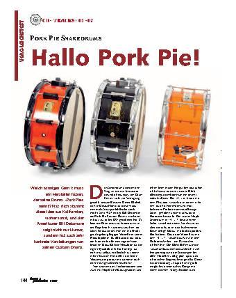 Hallo Pork Pie!