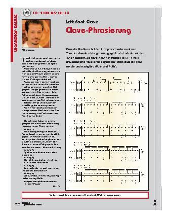 Clave-Phrasierung
