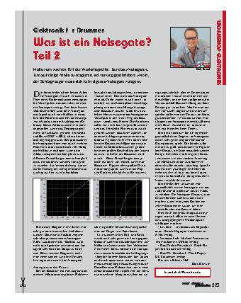 Was ist ein Noisegate? (Teil 2)