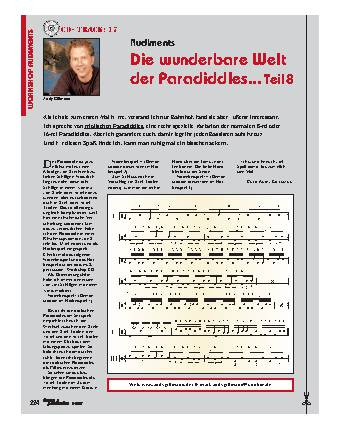 Die wunderbare Welt der Paradiddles... (Teil 8)