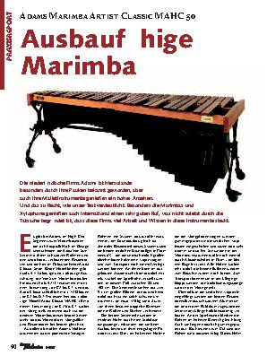 Ausbaufähige Marimba