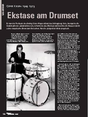Ekstase am Drumset