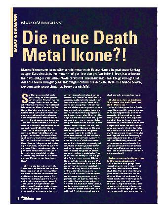Die neue Death Metal Ikone?!