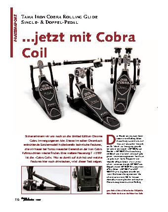 ...jetzt mit Cobra Coil