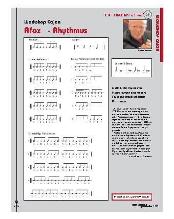Afoxé - Rhythmus