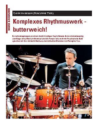 Komplexes Rhythmuswerk - butterweich!
