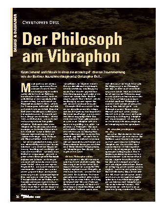 Der Philosoph am Vibraphon