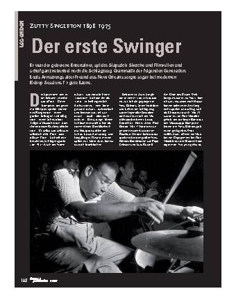 Der erste Swinger