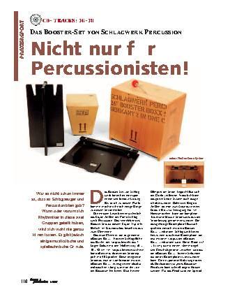 Nicht nur für Percussionisten!