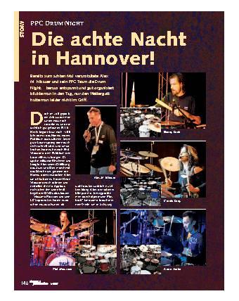 Die achte Nacht in Hannover!