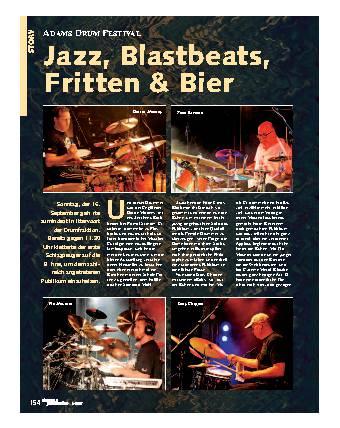 Jazz, Blastbeats, Fritten & Bier