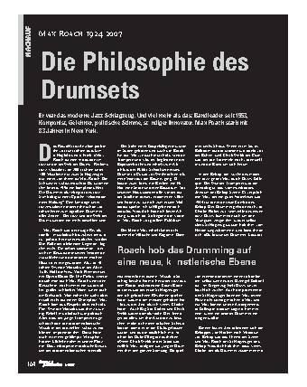 Die Philosophie des Drumsets