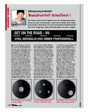 Bassdrumfell-Schallloch I