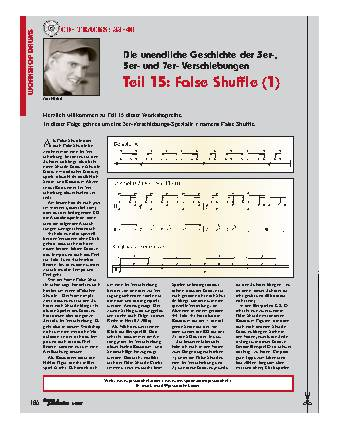 Teil 15: False Shuffle (1)