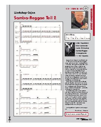 Samba-Reggae (Teil 2)