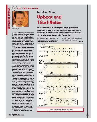 Upbeat und 16tel-Noten