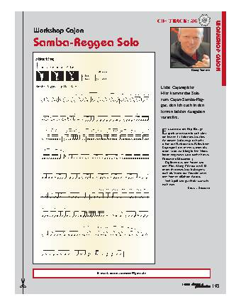 Samba-Reggea Solo