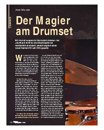 Der Magier am Drumset